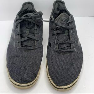Adidas Men's Gray Low Profile Lace Up Sneaker 10